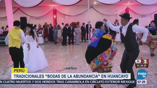 Bodas Verdaderas Fiestas Abundancia Huancayo, Perú