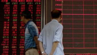 Bolsa de Tokio y Shanghái, a la baja por olas de ventas