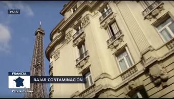 Busca París Frenar Índices Contaminación Medio Ambiente