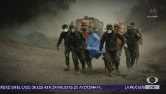 Buscan sobrevivientes en Guatemala tras erupción del Volcán de Fuego