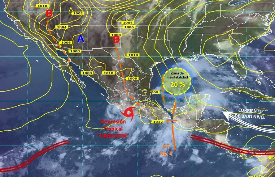 lluvias afectaciones municipios campeche conagua proteccion