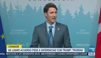 Canadá Concentrado Conseguido Cumbre G7 Justin Trudeau