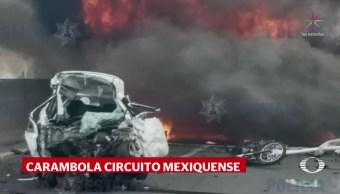 Carambola Circuito Exterior Mexiquense Cuatro Muertos