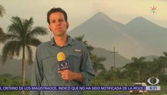 Carlos Loret reporta desde Guatemala tras erupción volcánica