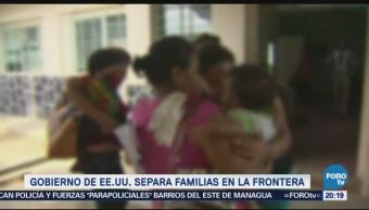 Niños Migrantes Separados Familias Era Trump