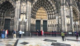 Desalojan catedral de Colonia por presencia de un sospechoso