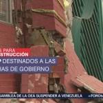 Cdmx Reconstrucción Sismos Septiembre Damnificados Septiembre