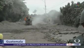 Cenizas del Volcán de Fuego sepultan varias comunidades de Guatemala