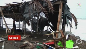Cinco Sistemas Tropicales Afectan México Tormentas