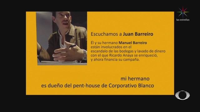 Video Ricardo Anaya Manuel Barreiro Lavado