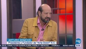Agenda Discapacidad Fundación Arte Down, A.C Arturo Kemchs, presidente y fundador