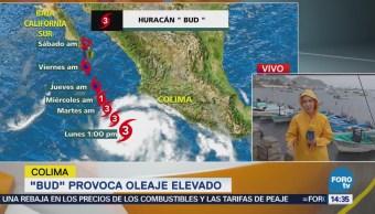 Colima Evacua 150 Personas Armería Huracán Bud