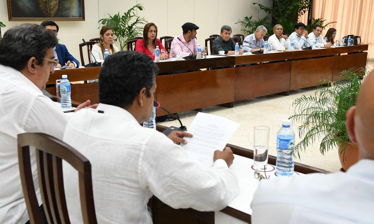 Colombia ELN cierran negociaciones paz alto fuego