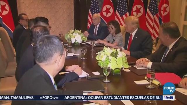 Comunidad Internacional Aplaude Encuentro Trump-Kim