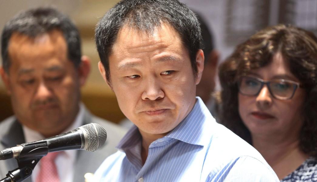 Congreso peruano rechaza destituir legislador Kenji Fujimori