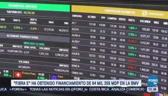 Crece 'Fibra E' en la Bolsa Mexicana de Valores