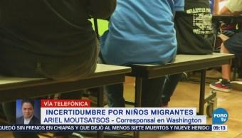 Crece Incertidumbre Niños Migrantes Eu
