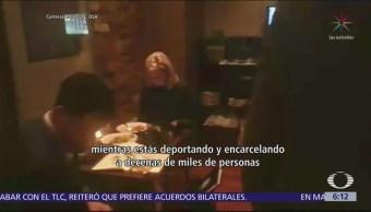 Cuestionan a Kirstjen Nielsen en restaurante mexicano en Washington