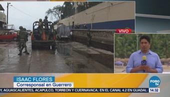 Depresión Tropical 'Carlotta' Deja Cuatro Lesionados Acapulco