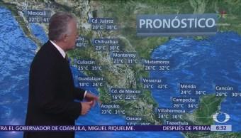 Despierta con Tiempo: Persisten tormentas en gran parte de México