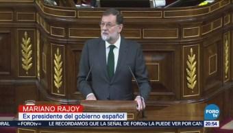 Destituyen Mariano Rajoy Presidente España Español