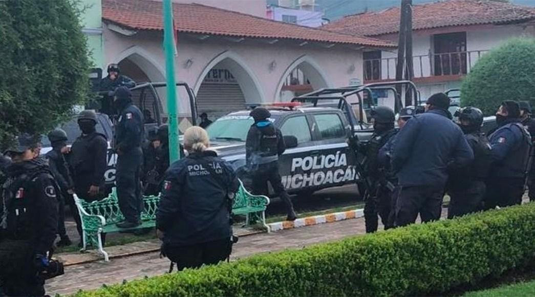 Detienen A Todos Los Policías De Ocampo En Michoacán