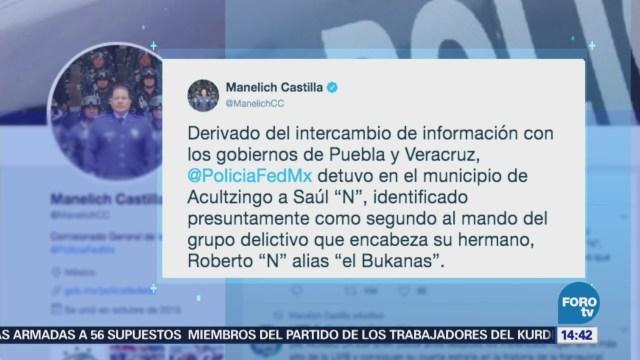 Detienen Hermano El Bukanas Manelich Castilla