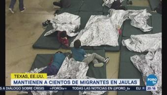 Difunden audio llanto de niños migrantes separados