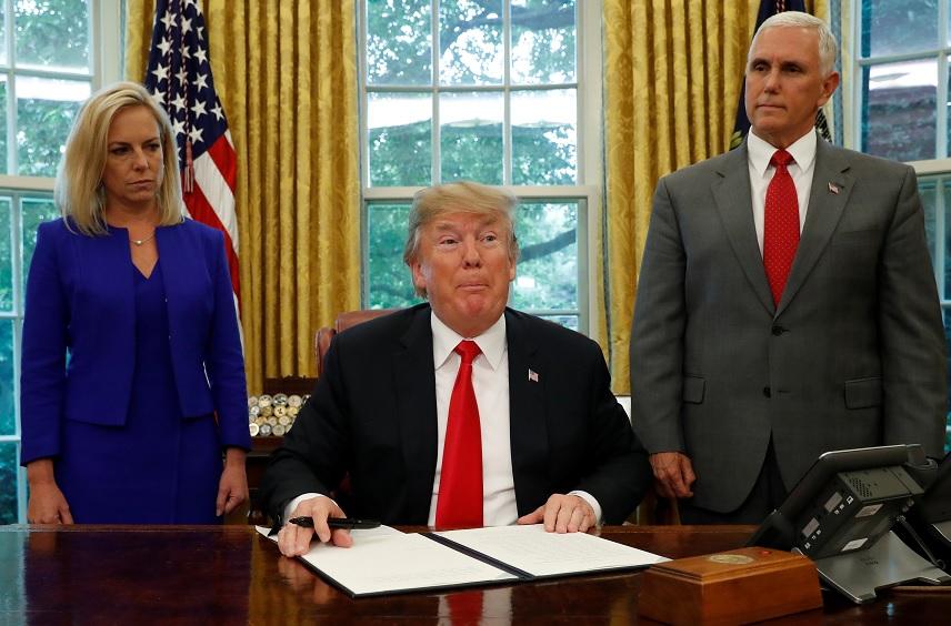 Donald Trump se mantiene firme en contra de los inmigrantes