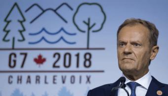 UE rechaza readmitir a Rusia en el G7 como propone Trump