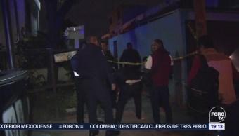 Muertos Mujer Lesionada Balacera Tláhuac CDMX