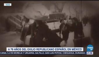 Efeméride En Una Hora Exilio español