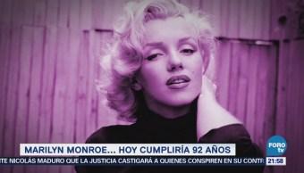 Efeméride En Una Hora Marilyn Monroe Historia
