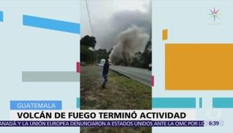 Ejército de Guatemala se despliega en comunidades sepultadas tras erupción volcánica