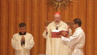 Iglesia continuará promoviendo voto, dice cardenal Aguiar