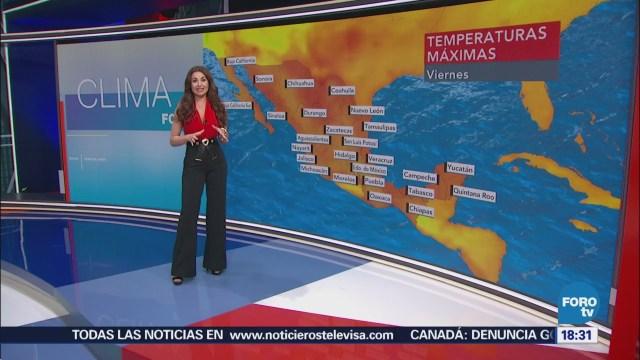 Clima Mayte Carranco Onda De Calor