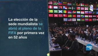 Elección Abierta Mundial 2026 México EU Canadá