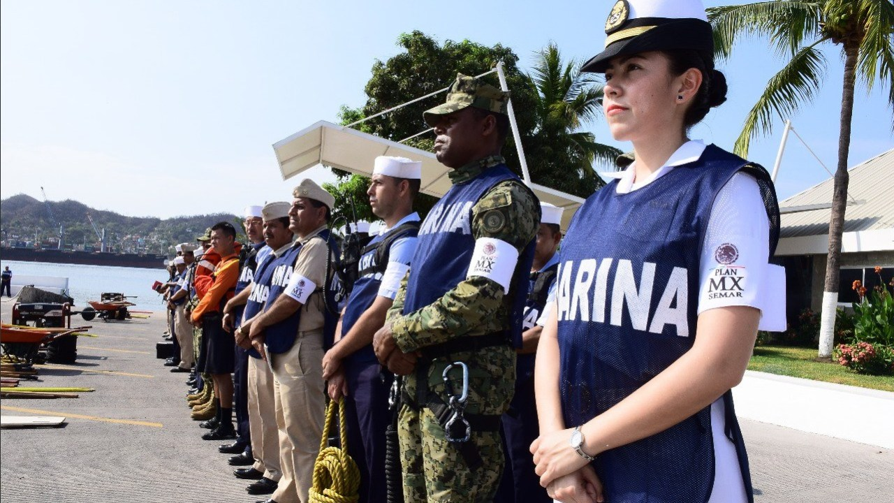 150 elementos de la Semar participan en el 'Plan Marina' Veracruz