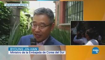 Embajador de Corea se suma a los festejos de aficionados a la selección mexicana