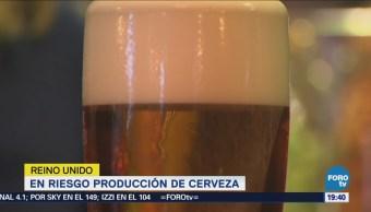 Riesgo Producción Cerveza Reino Unido