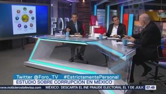 Estudio sobre corrupción desglosa la responsabilidad de cada estrato social