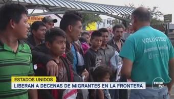EU Libera Migrantes Frontera Texas Migración