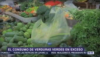 ¿Exceso de verduras verdes dañan la salud?