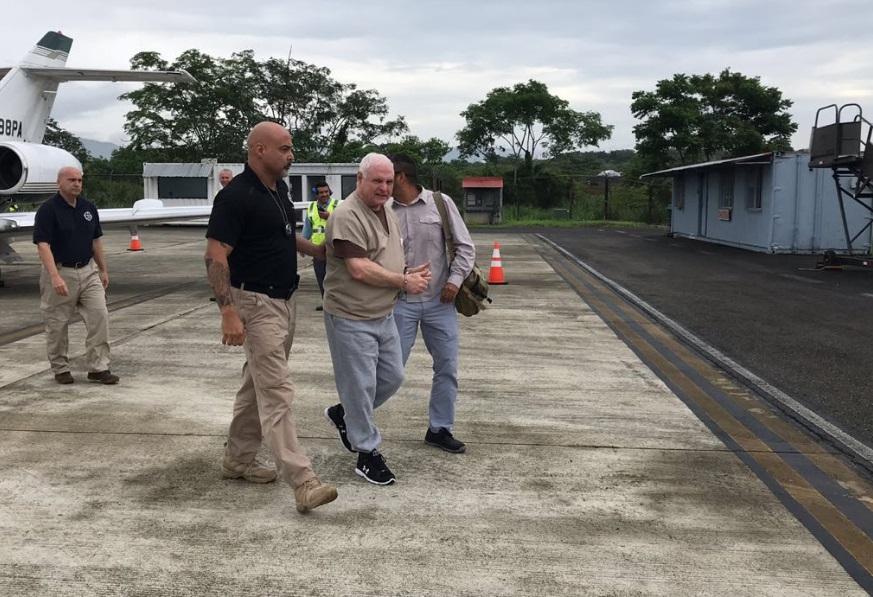 EU extradita expresidente Martinelli, acusado espionaje