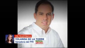 Fernando Purón Recibió Amenazas Senadora PRI