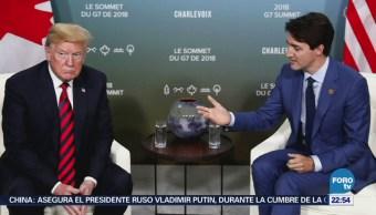 Finaliza Cumbre Del G7 Polémica Donald Trump