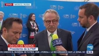 FMF: Mundial 2026 en México, gracias a pláticas con 180 federaciones