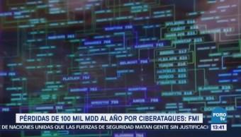 FMI advierte riesgo de ciberataques por 100 mil mdd