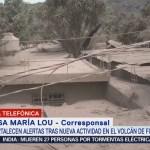 Fortalecen Alertas Nueva Actividad Volcán Fuego