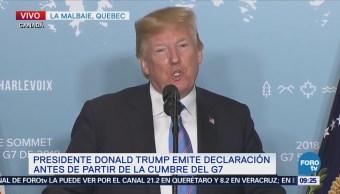 G7 comprometido con controlar ambiciones nucleares